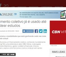 Entrevista – Gazeta Online CBN Vitória