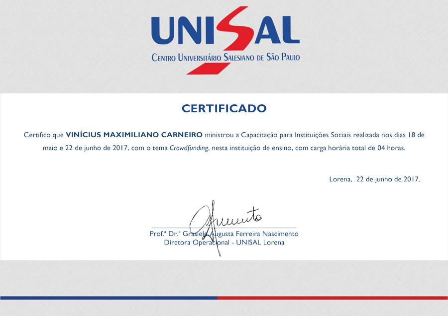 Vinicius-unisal